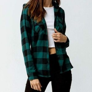 Destined Hooded Hunter Flannel Shirt